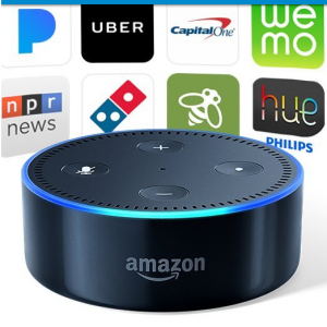 Certified Refurbished Echo Dot (2nd Generation) – Black