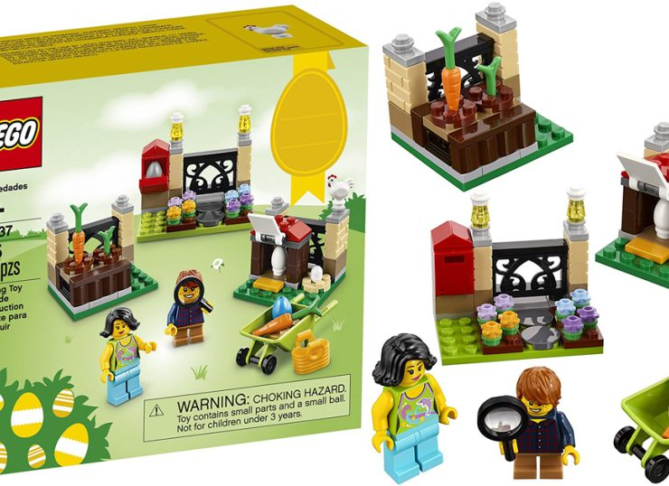 Lifestyle Glitz - LEGO Holiday Easter Egg Hunt Building Kit