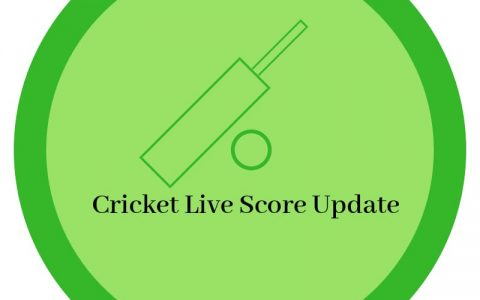 Cricket Live Score Update