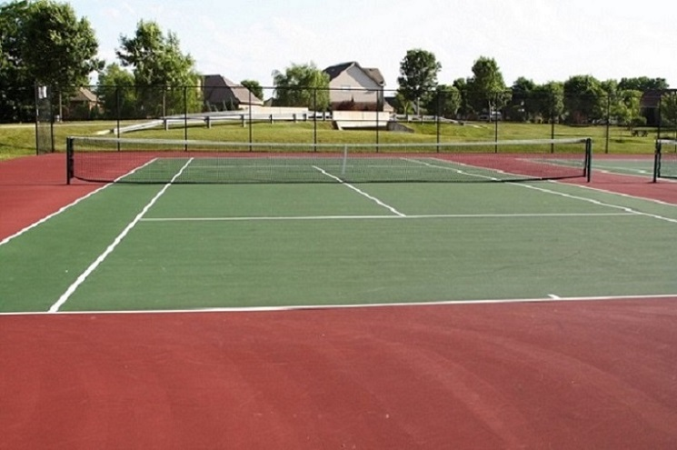 Asphalt Tennis Court Construction Service